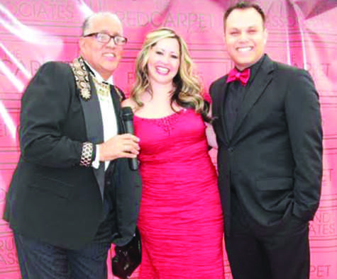 Red Carpet Gala: Dyane Burgos Medina hosts a dinner to raise funds for the San Joaquin Pride Center.