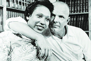 Interracial relationships indebted  to the Lovings' courage