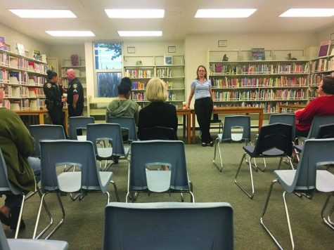 Principal addresses safety concerns at meeting