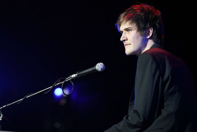 Bo Burnham attends the Second Annual Hilarity For Charity benefiting The Alzheimer's Association at the Avalon on April 25, 2013 in Hollywood, California.