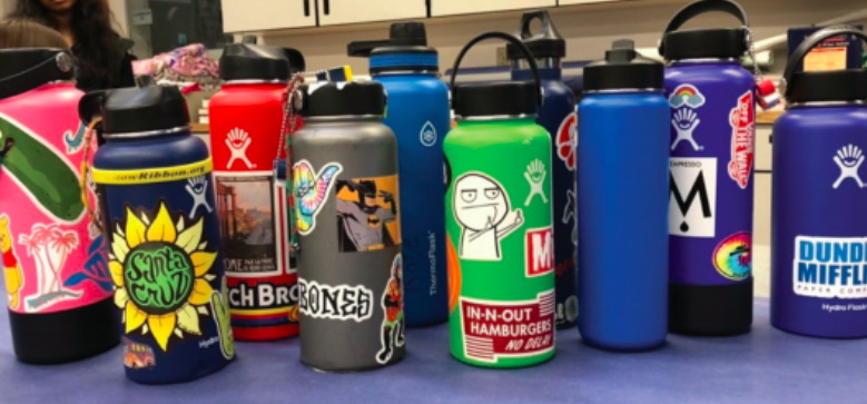 Personalized Hydroflasks are today's must-have item