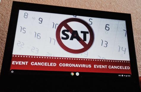 Canceled: Multiple SAT events were canceled due to Covid.